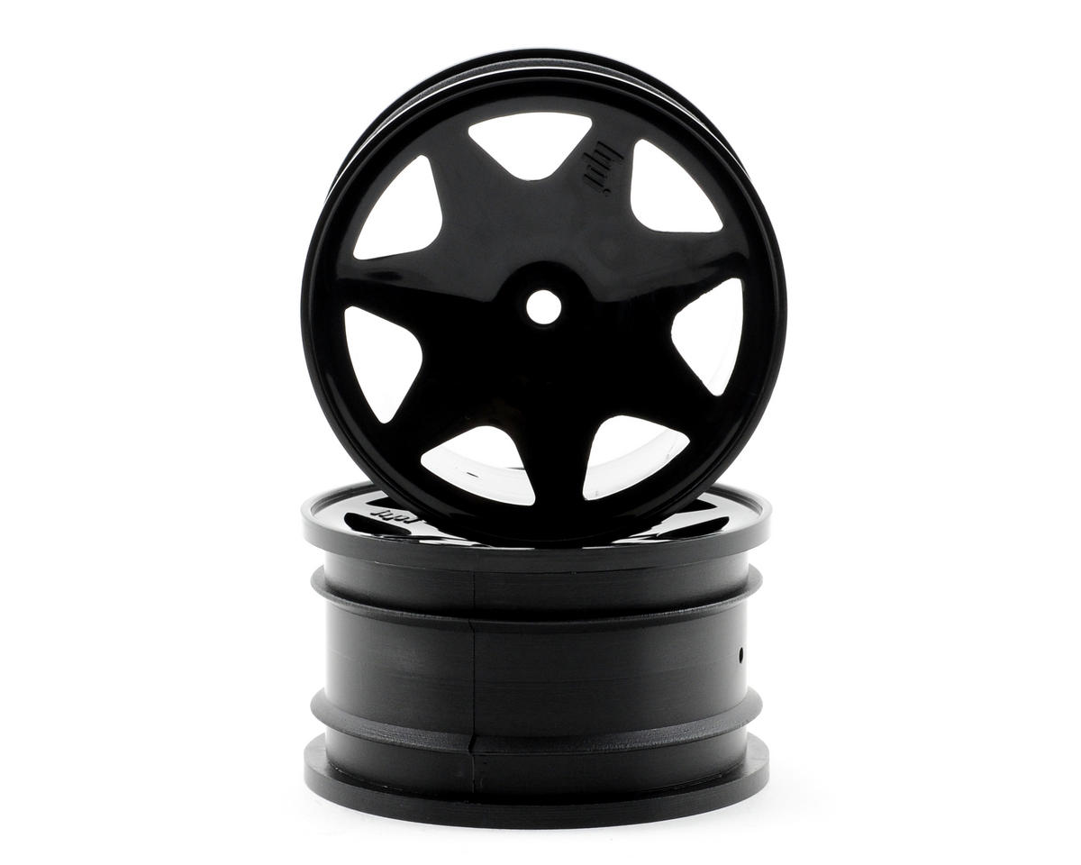 HPI Racing 30mm Ultra 7 Front Wheels (2) (Black)
