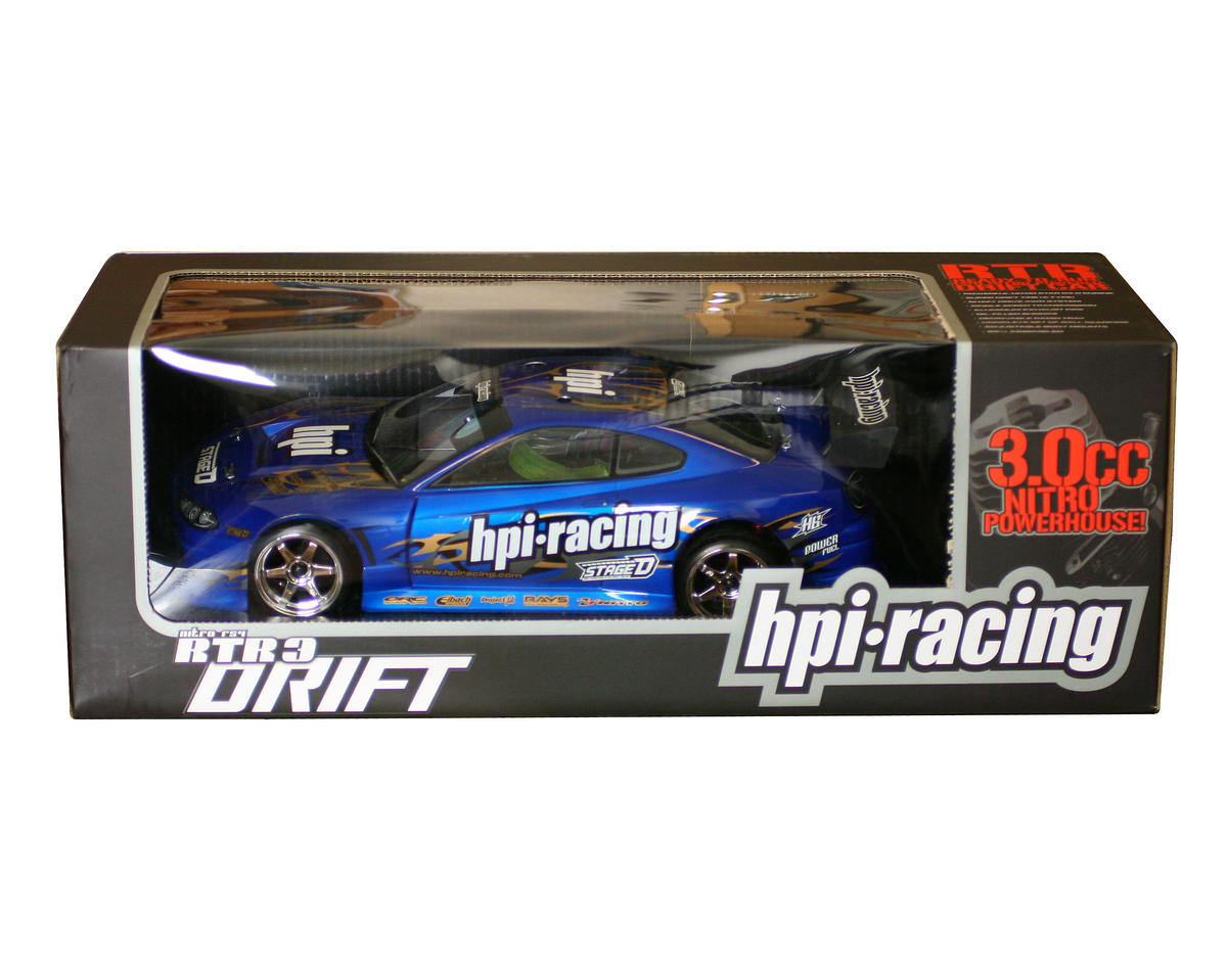 HPI Racing Nitro RS4 3 Drift RTR w/ Nissan Silvia Body