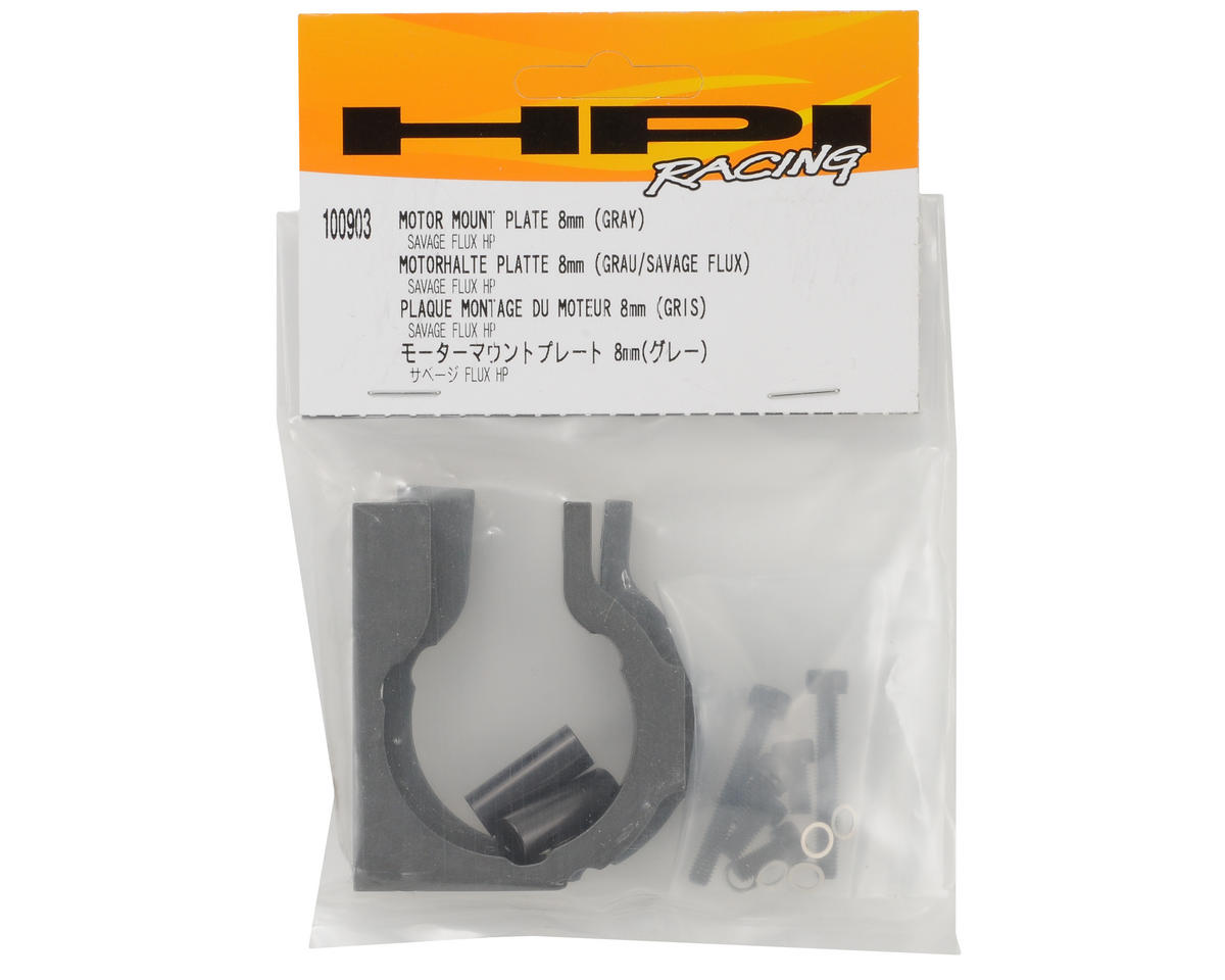 Motor Mount Plate (Gray) by HPI