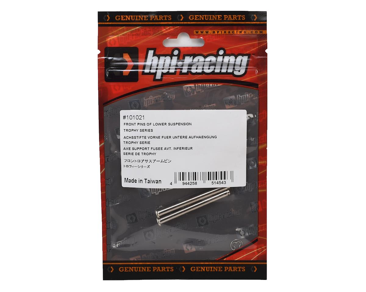 Trophy Series Lower Suspension Front Pin (2) by HPI