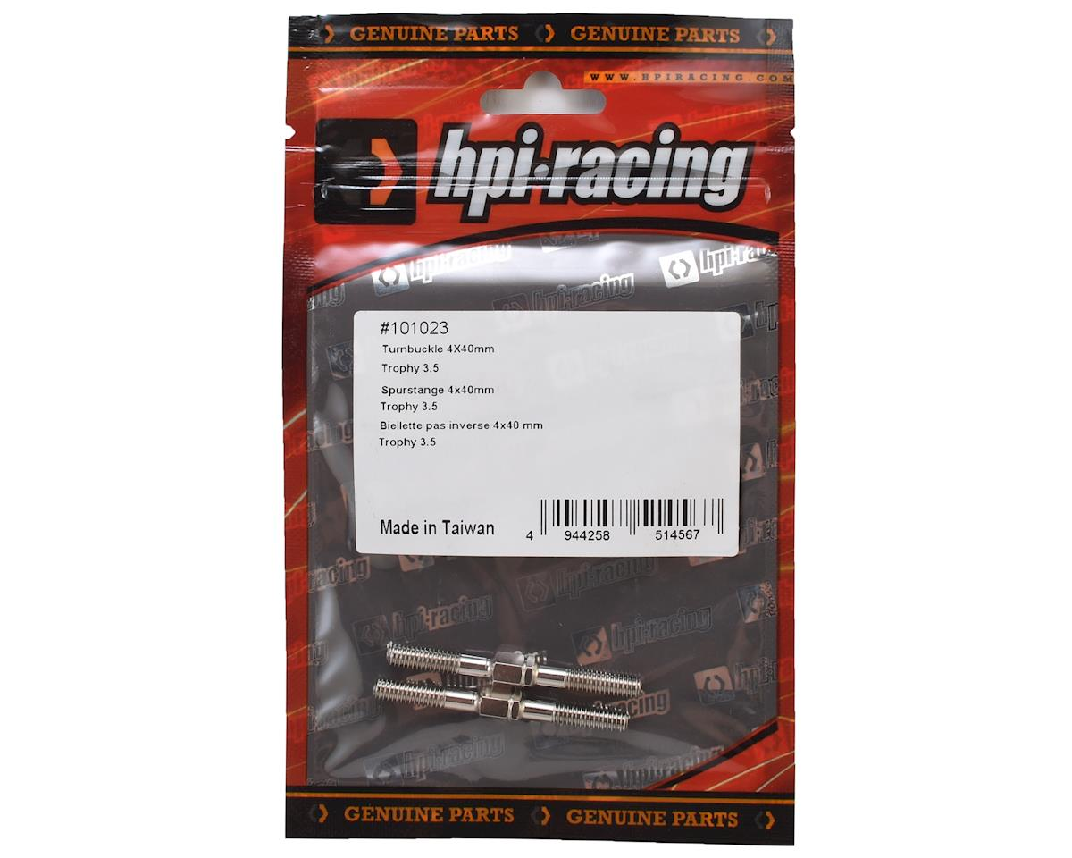 4x40mm Trophy Truggy 3.5 Turnbuckle (2) by HPI