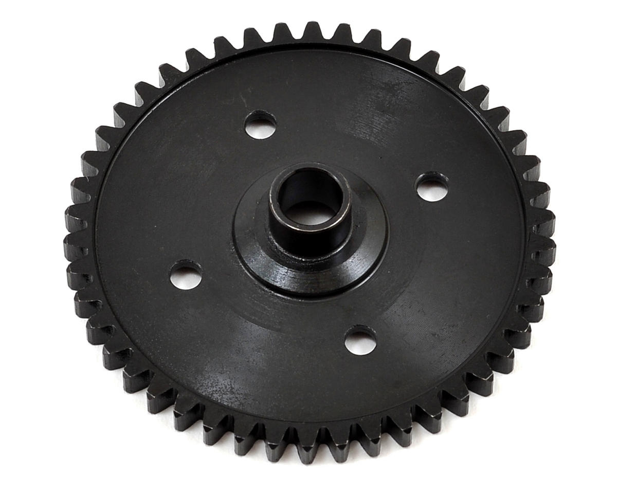 Stainless Center Spur Gear (46T) by HPI