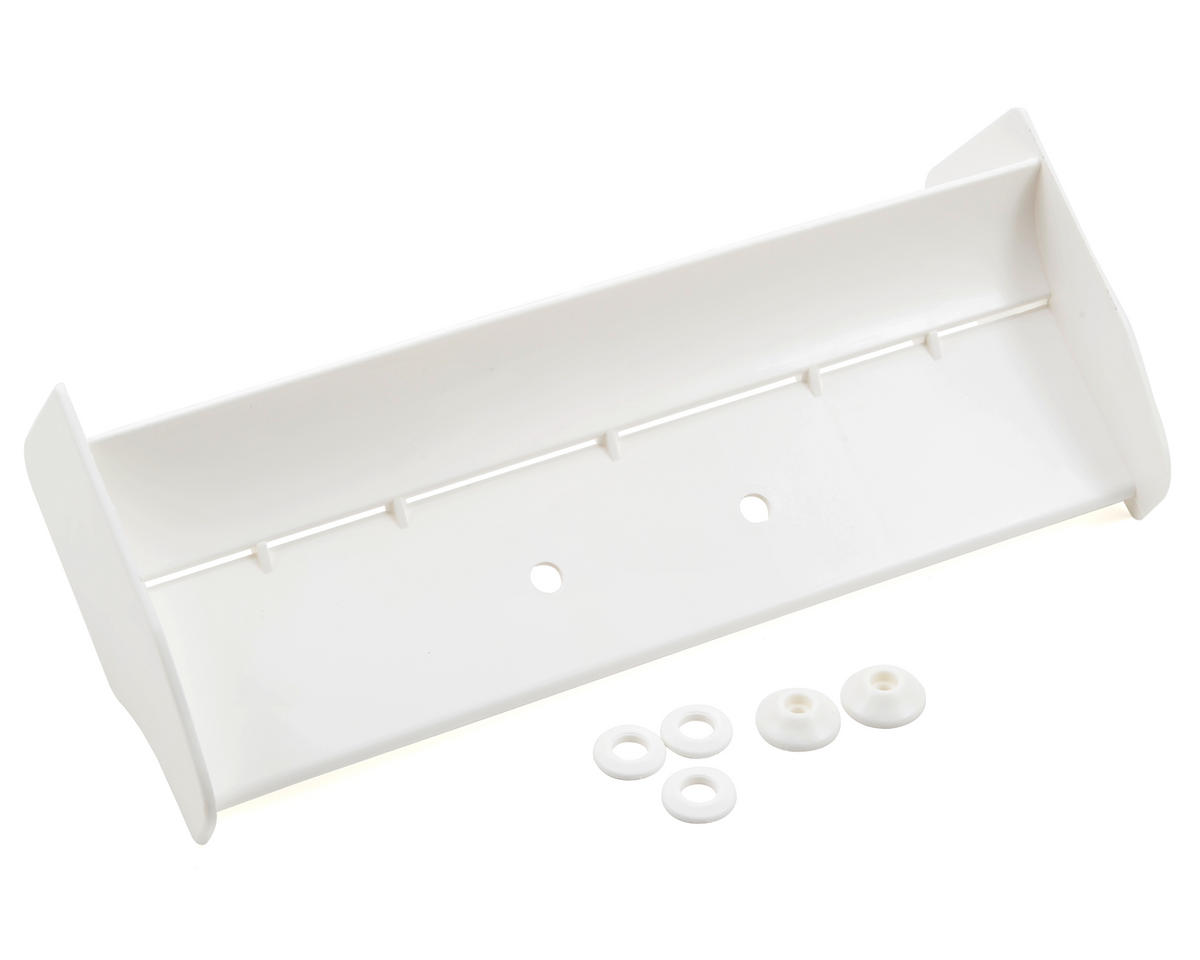HPI Molded Rear Wing (White)