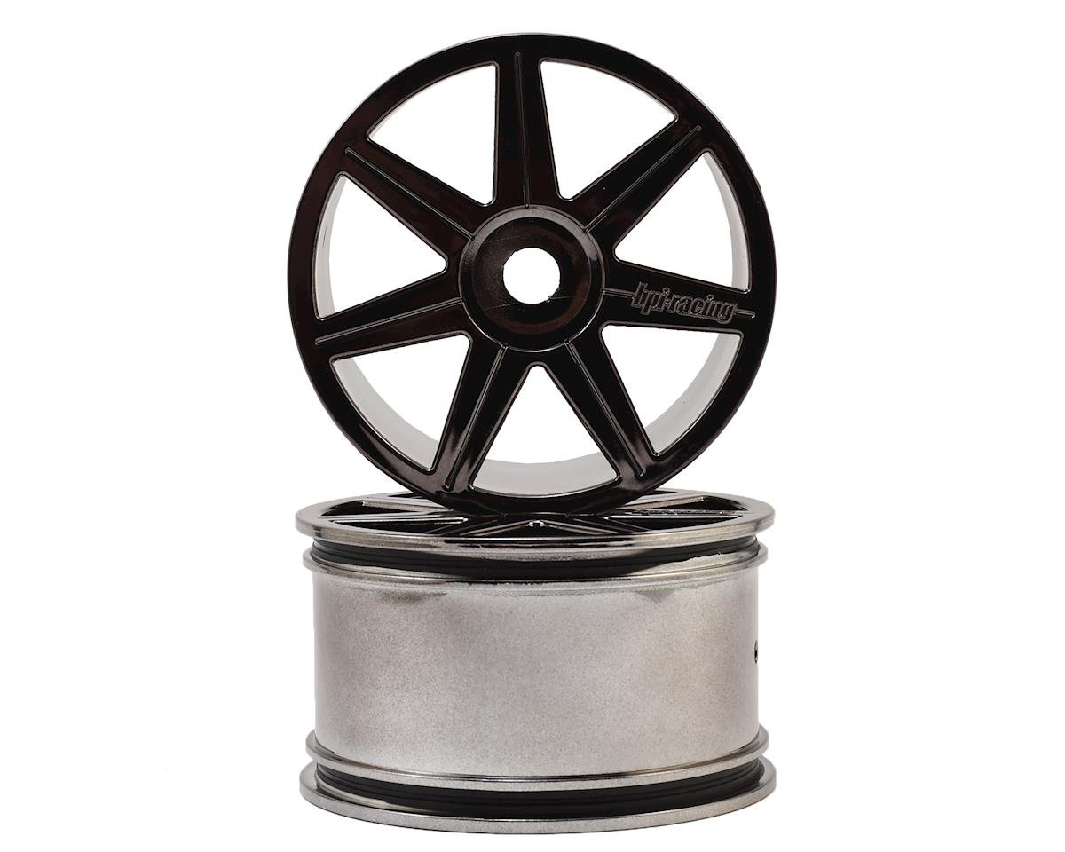 HPI 17mm Hex 7-Spoke Trophy Truggy Wheel (Black Chrome) (2)