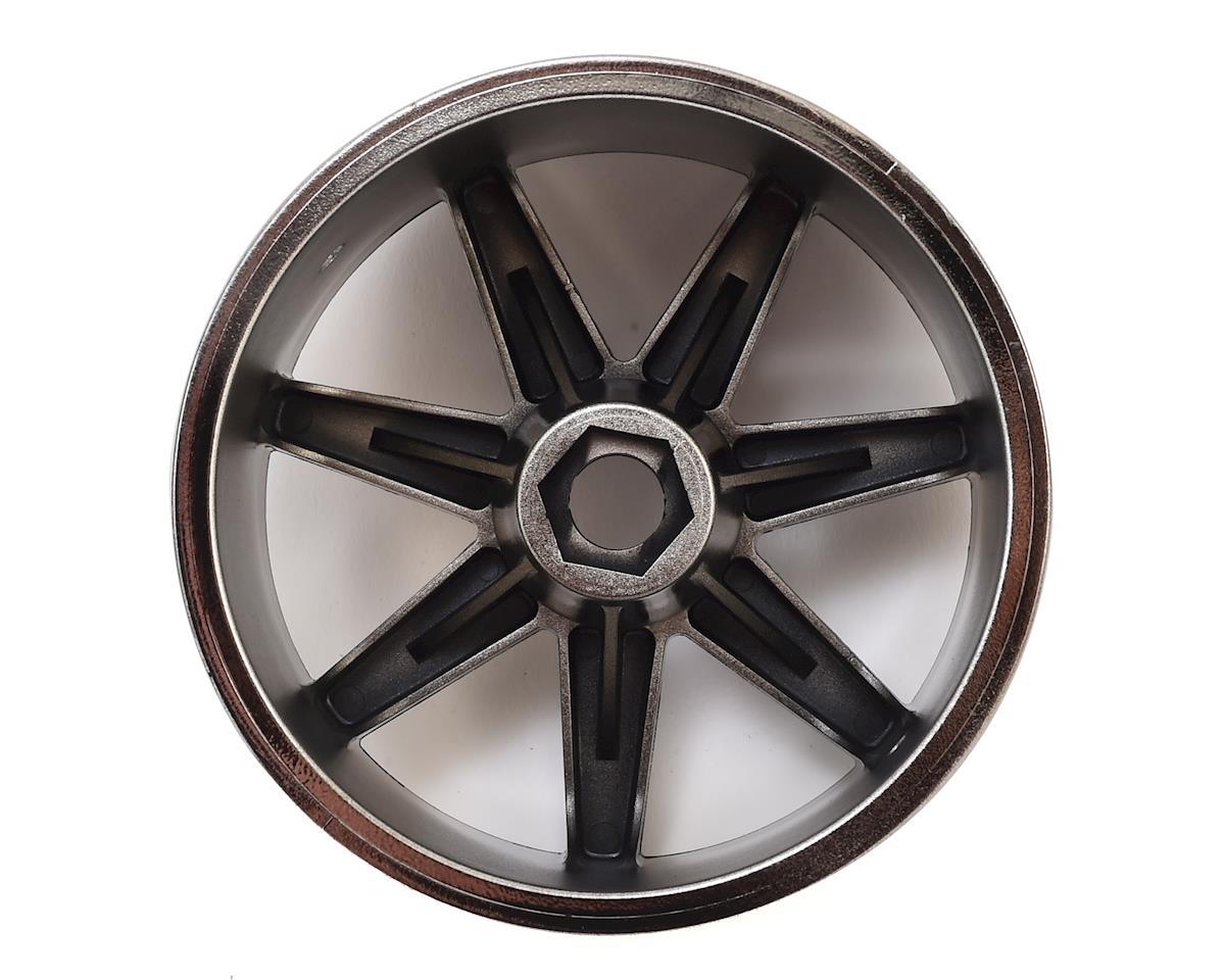 17mm Hex 7-Spoke Trophy Truggy Wheel (Black Chrome) (2) by HPI
