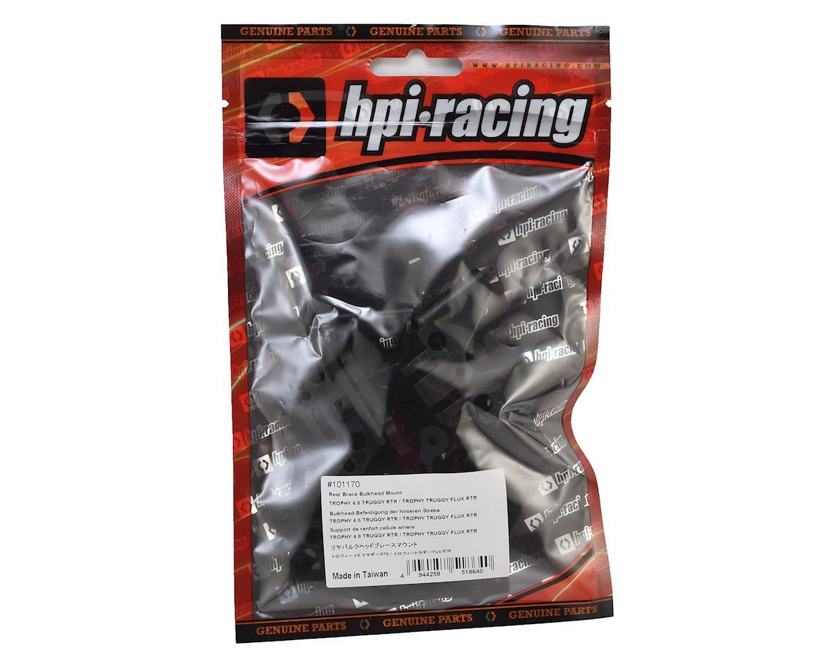 Trophy Truggy Rear Brace Bulkhead Mount by HPI