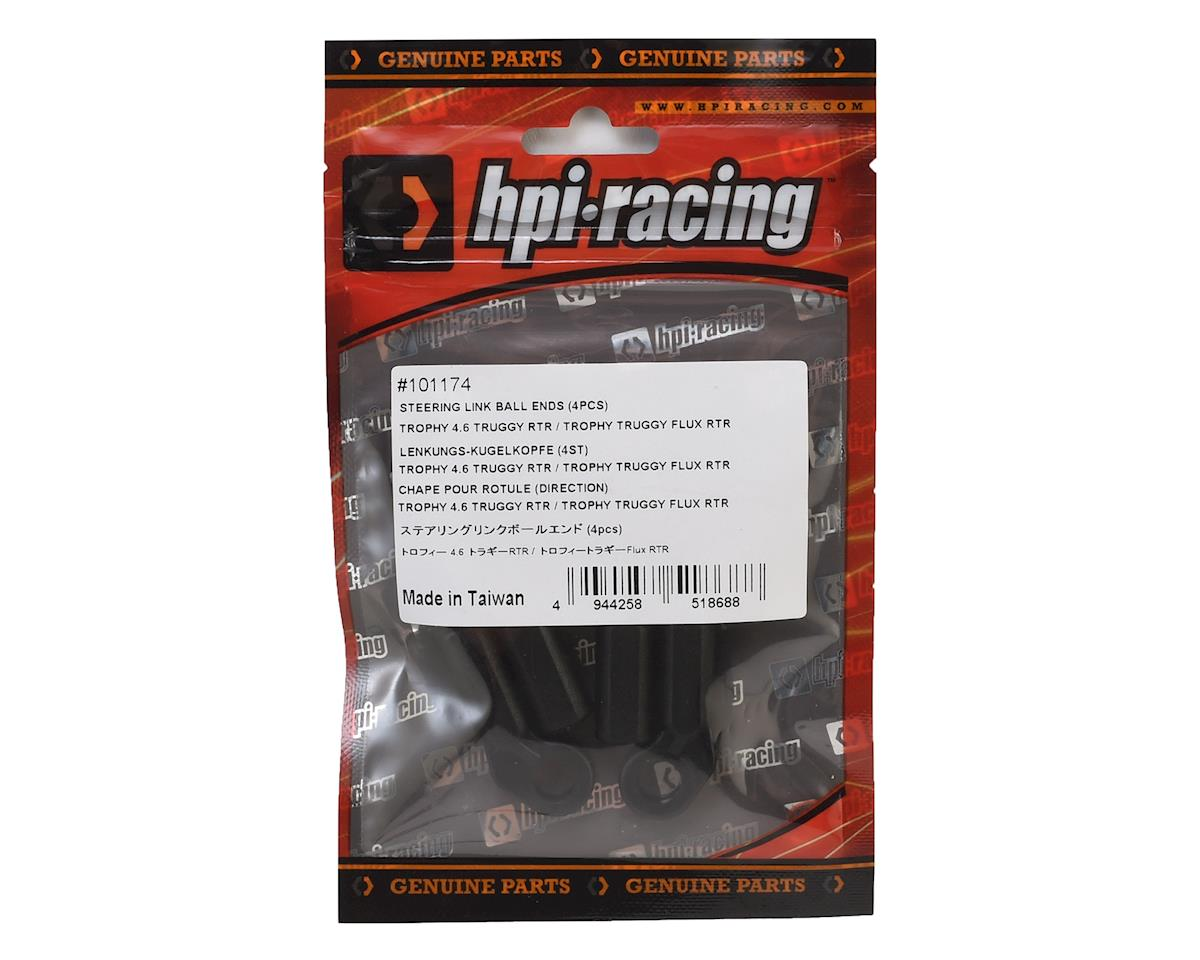 Steering Link Ball Ends (4) by HPI