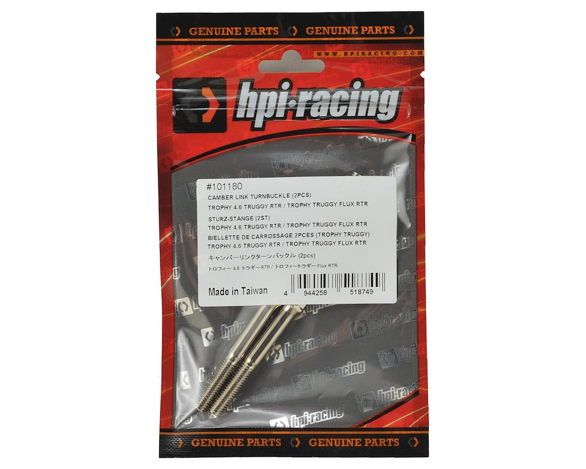 Trophy Truggy Camber Link Turnbuckle (2) by HPI