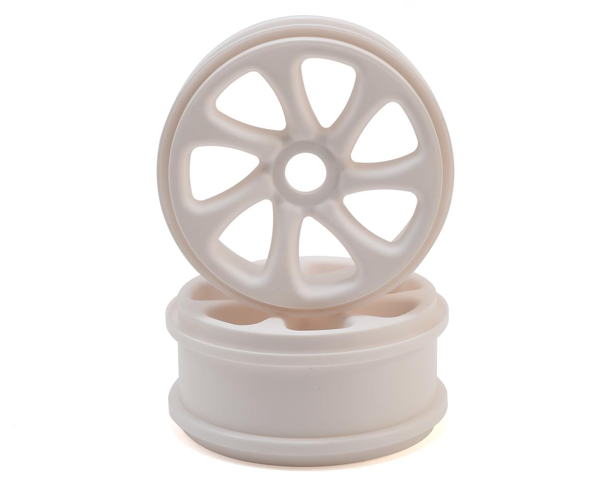 HPI Trophy Buggy Turbine 1/8 Buggy Wheels (White) (2)