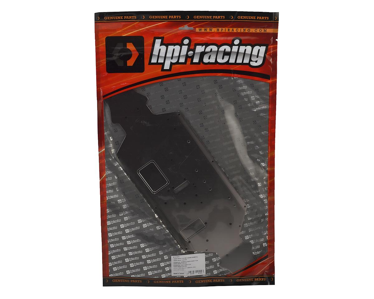 Aluminum Trophy Buggy Flux Chassis (Gunmetal) by HPI
