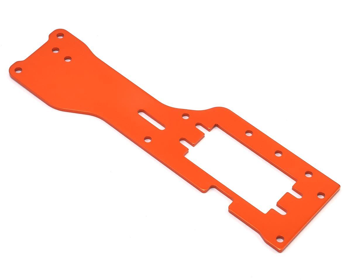 HPI Aluminum Trophy Nitro Upper Chassis Mount (Orange)