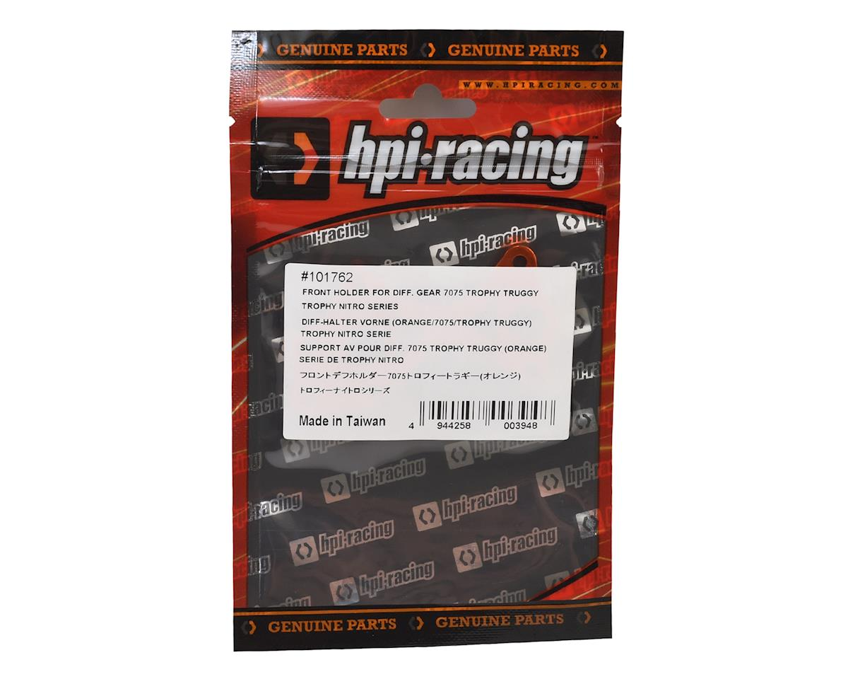 HPI Aluminum Trophy Nitro Front Differential Gear Holder