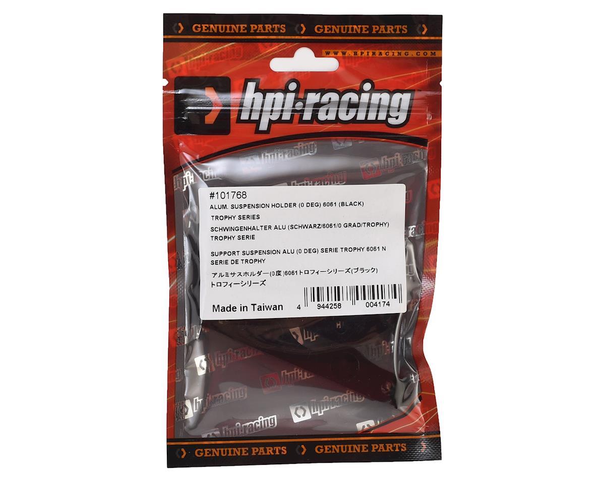 Aluminum Trophy Series Suspension Holder (Black) (0°) by HPI