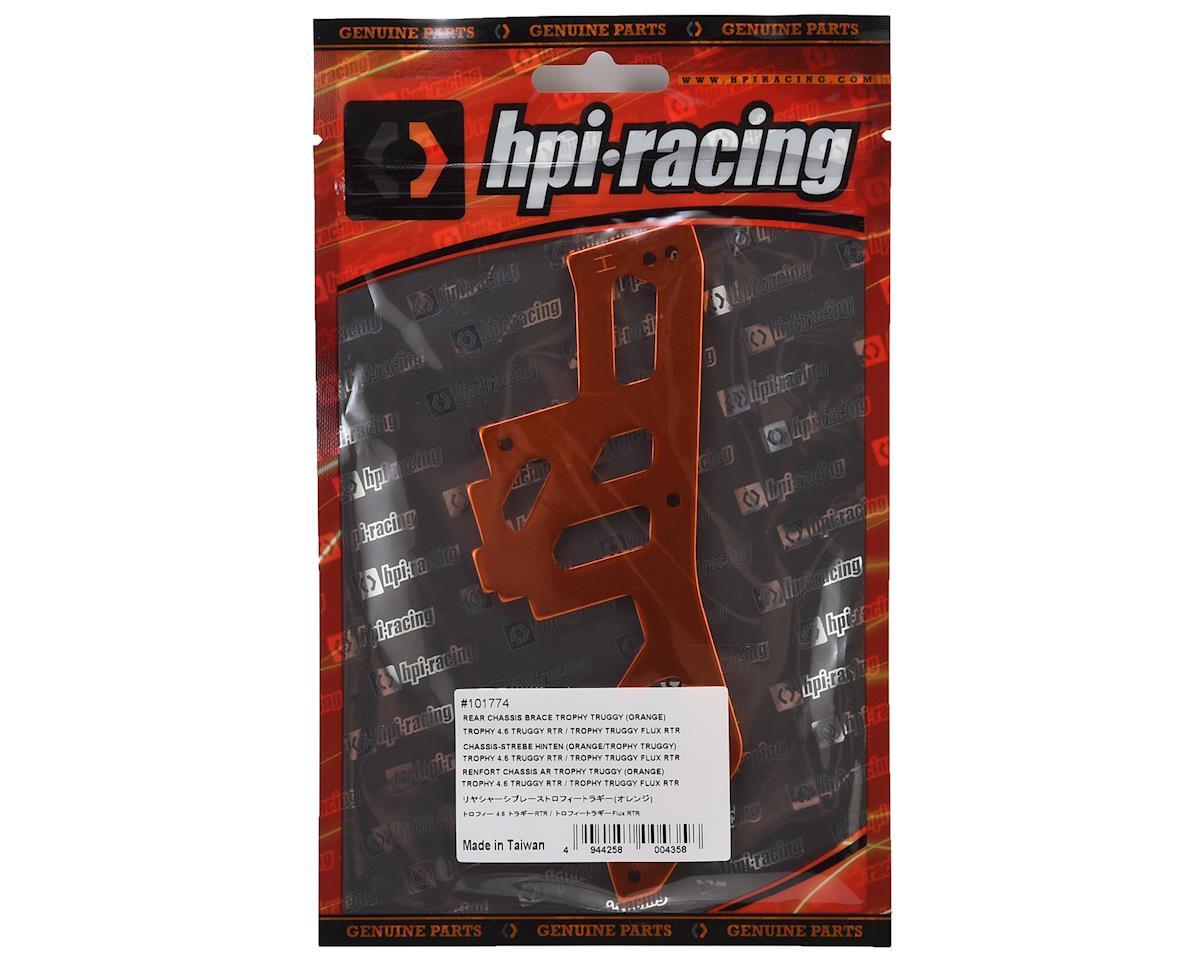 HPI Trophy Truggy Series Rear Chassis Brace (Orange)