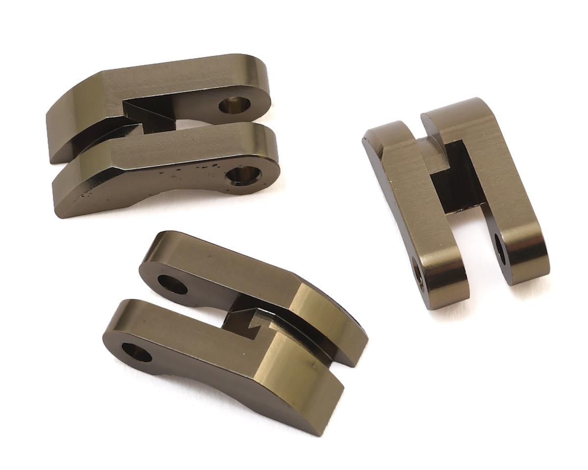HPI Trophy Buggy Aluminum Racing Clutch Shoes (Gunmetal) (3)