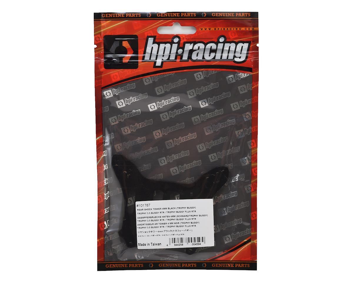 HPI 4mm Aluminum Trophy Buggy Rear Shock Tower (Black)