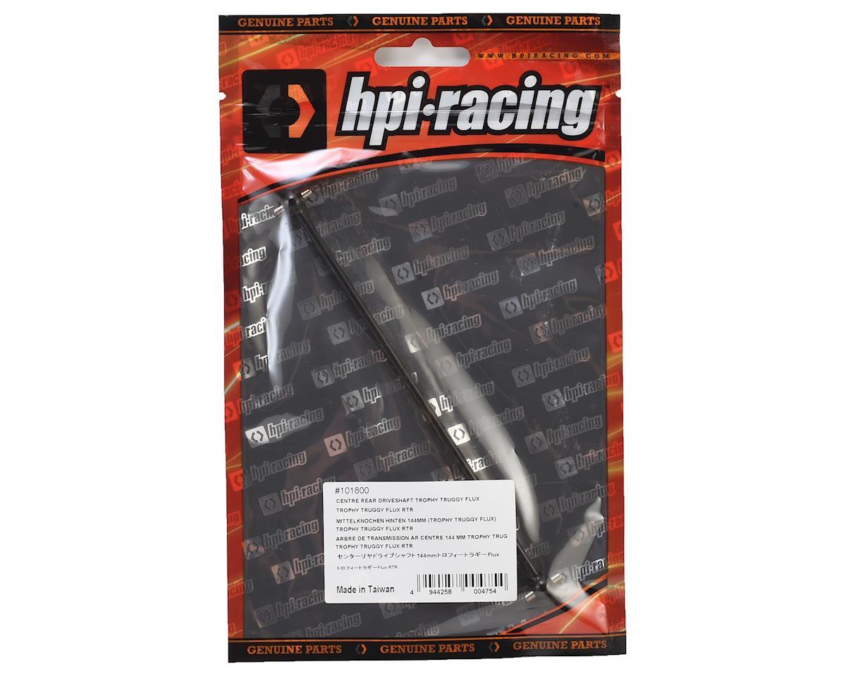 144mm Trophy Truggy Flux Center Rear Driveshaft by HPI