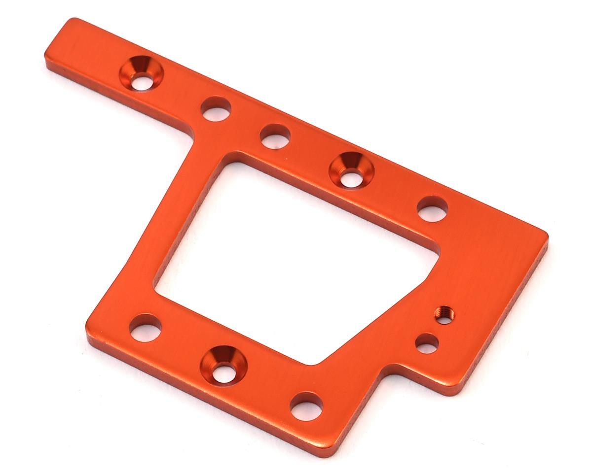 HPI Aluminum Trophy Truggy Flux Center Gearbox Mounting Plate (Orange)