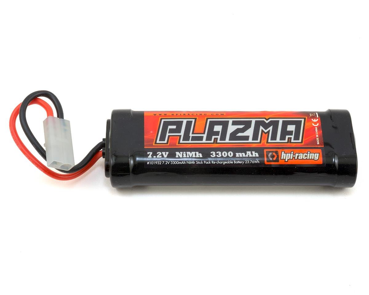 HPI Brama 10B Plazma 6 Cell Stick NIMH Battery Pack w/Tamiya Connector (7.2V/3300mAh)