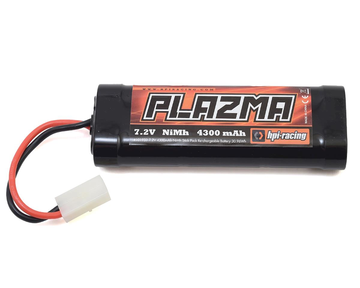 HPI Plazma 6-Cell NiMH Stick Pack Battery w/Tamiya Connector (7.2V/4300mAh)