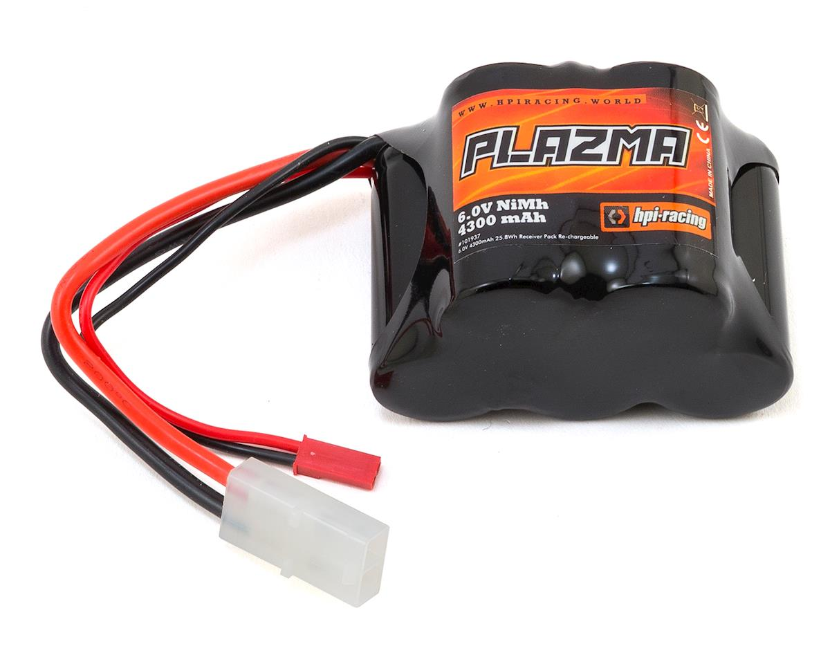 HPI Baja 5SC Plazma NiMH Receiver Battery Pack (6.0V/4300mAh)