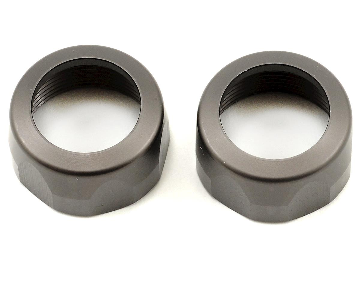 HPI 20x12mm VVC/HD Shock Cap Set (Gunmetal) (2)