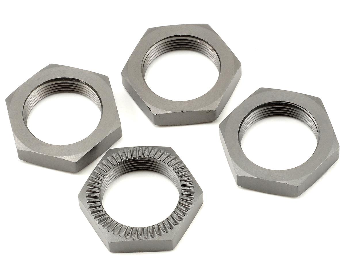 HPI Racing Baja 5SC 24mm Wheel Nut Set (Gunmetal) (4)