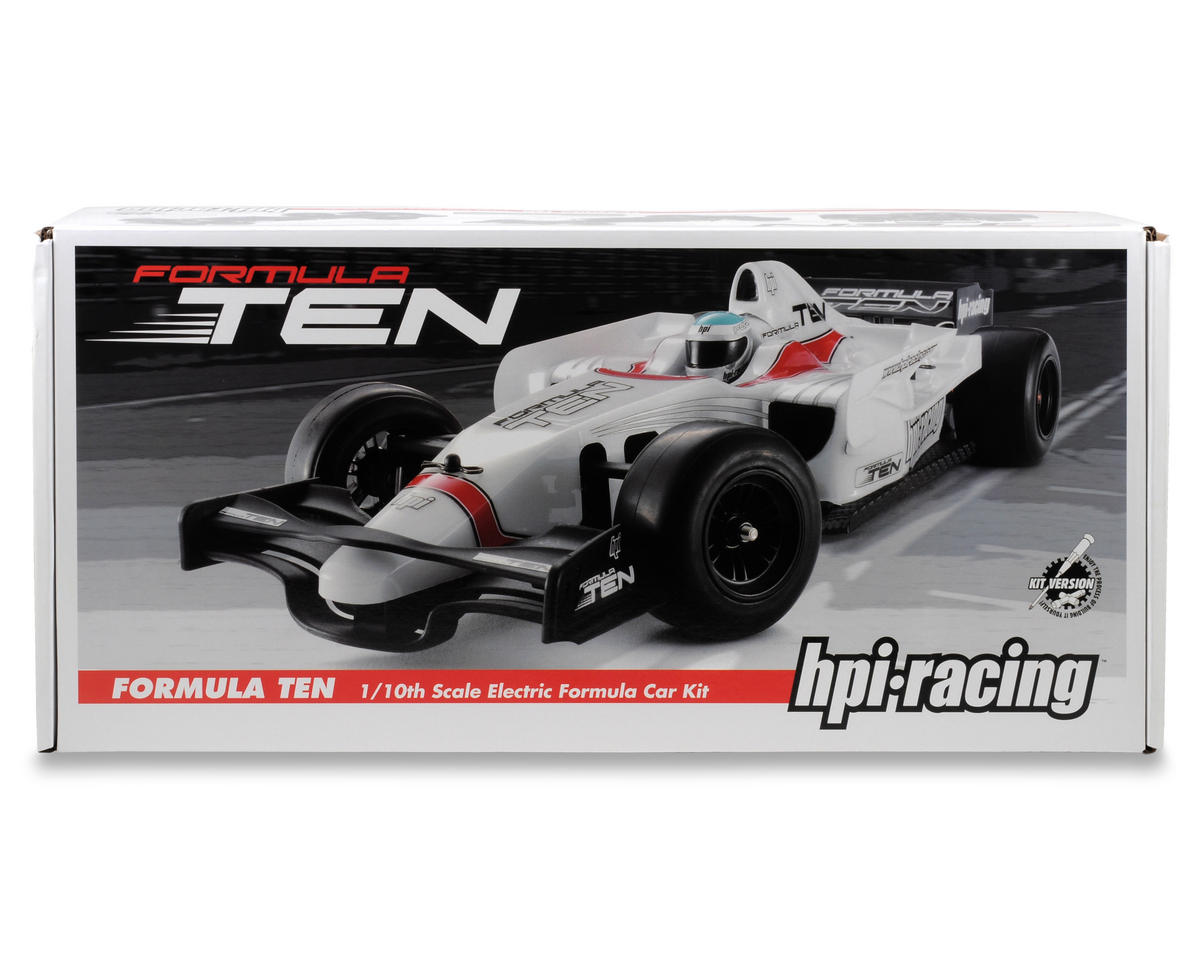 Hpi Racing Formula Ten Kit With Type 016c Clear Body Hpi102851