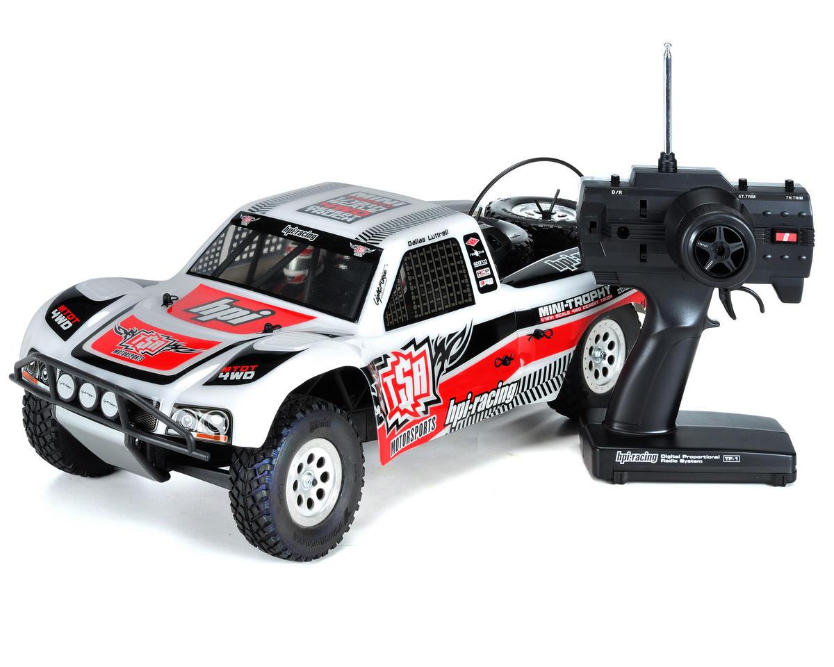Mini Trophy Truck >> Hpi Mini Trophy 1 12 Scale Rtr Electric 4wd Desert Truck W Dt 1 Body Hpi103034 Cars Trucks