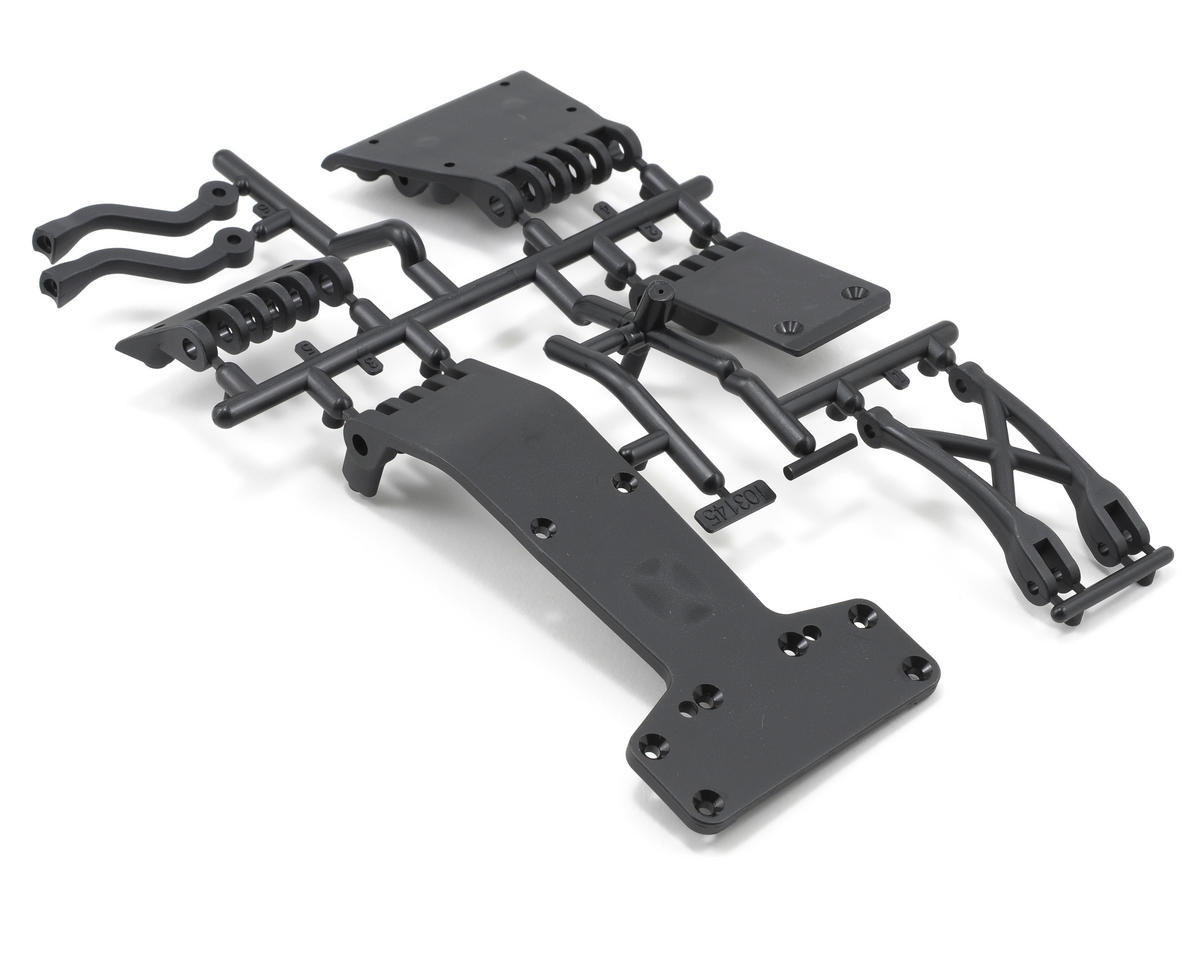 HPI Racing Skid Plate Set