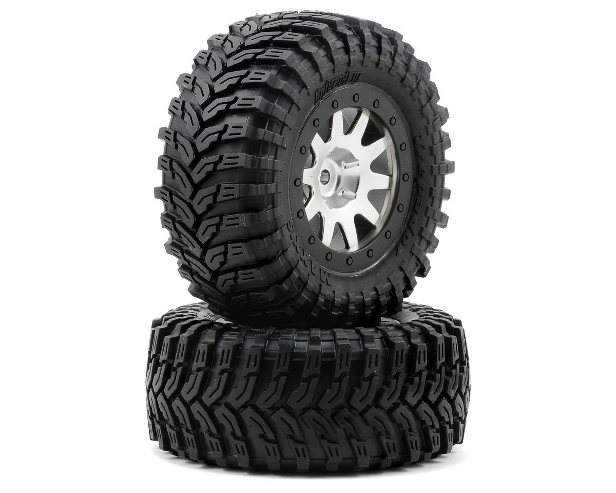HPI Racing Blitz Pre-Mounted Maxxis Trepador Tires (2) (Chrome/Black)