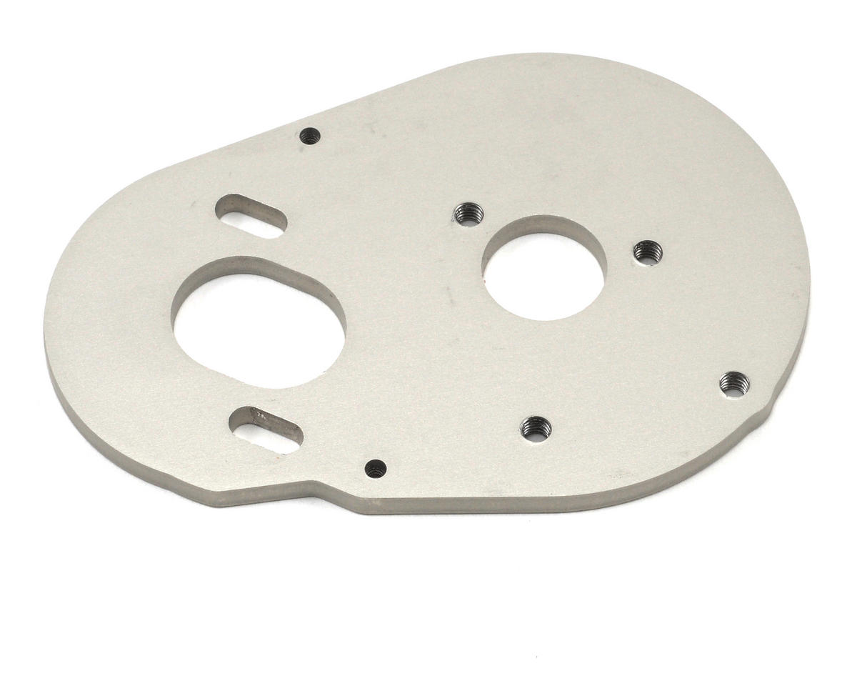 HPI Racing 3.0mm Aluminum Motor Plate (Gray)