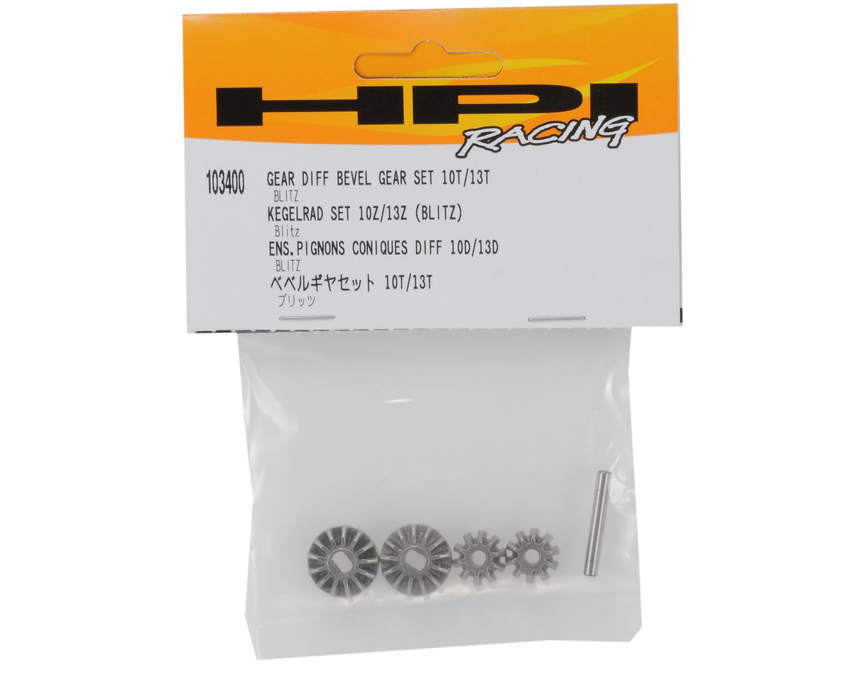 HPI Racing Gear Differential Bevel Gear Set (10T/13T)