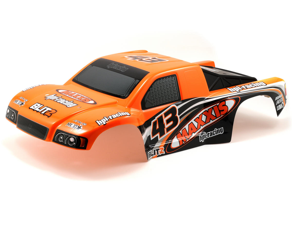 HPI Maxxis Attk-10 Pre-Painted Body (Orange/Black)