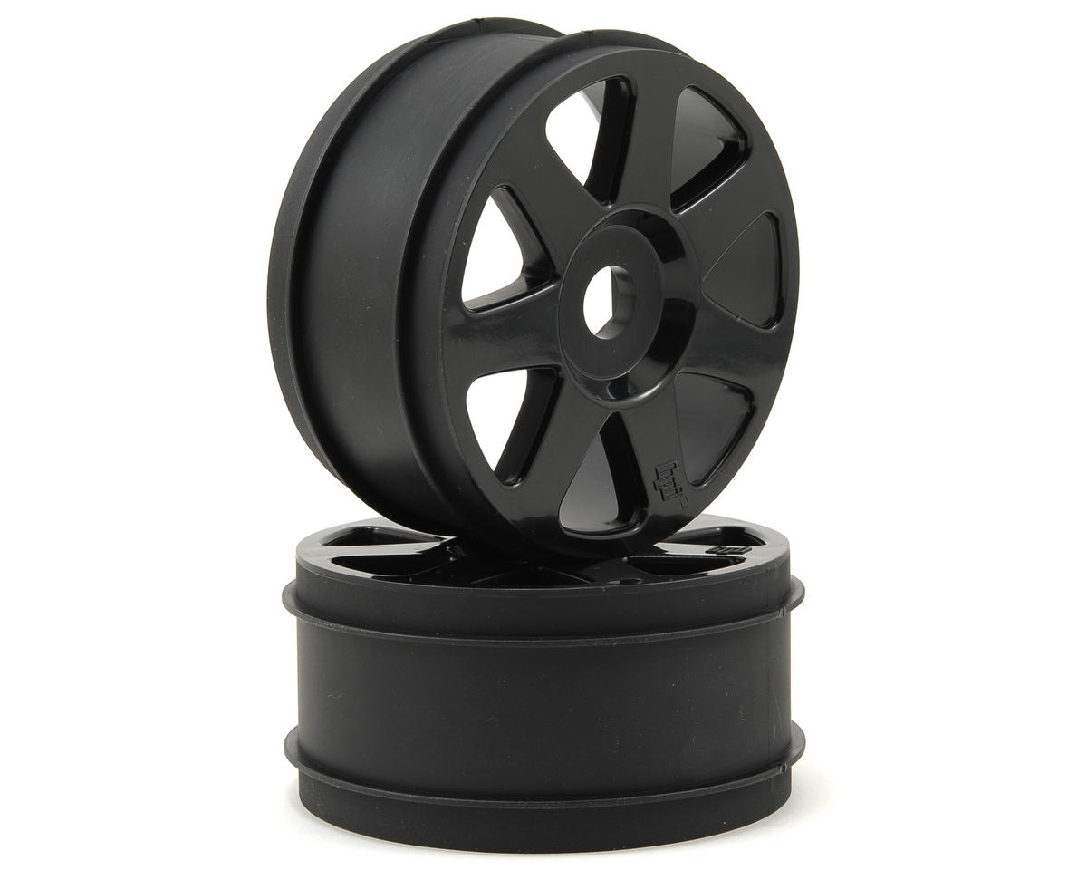 42x83mm V7 1/8 Buggy Wheel (2) (Black) by HPI Racing