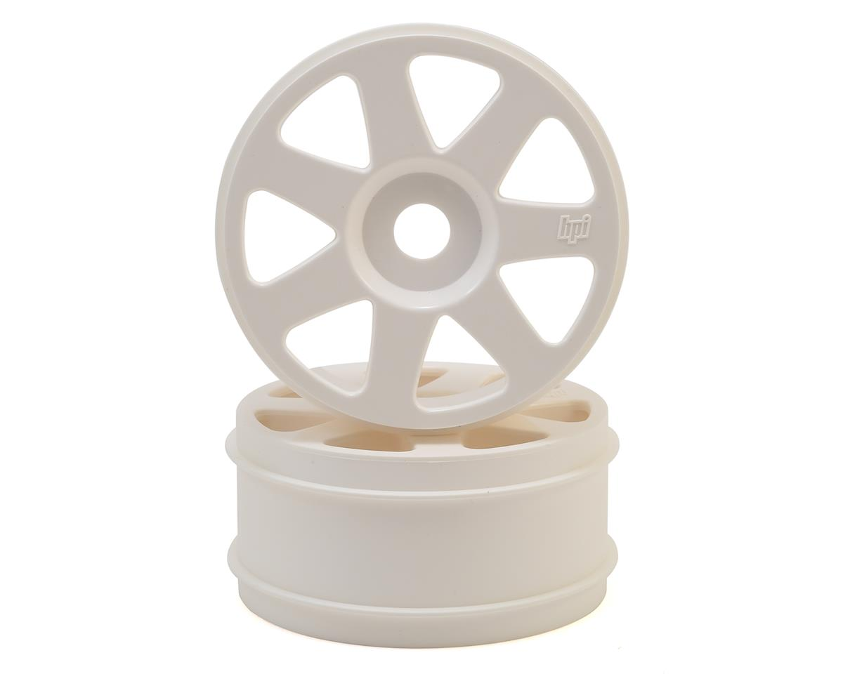 HPI 17mm Hex V7 1/8 Buggy Wheels (White) (2)