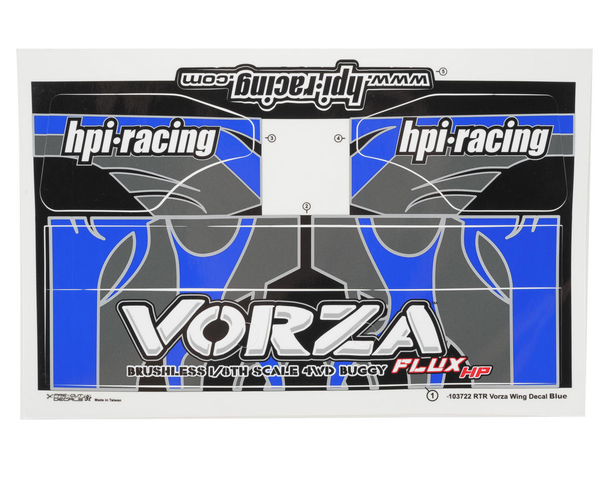 HPI Racing Vorza VB-1 Painted Body (Blue)