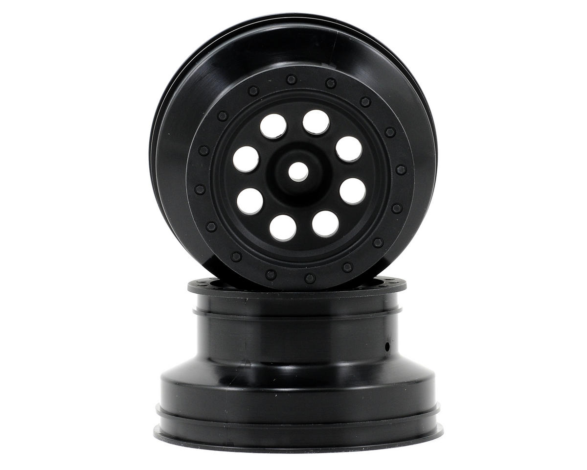 HPI Racing 12mm Hex MK.8 Short Course Wheels w/4.5mm Offset (Black) (2)
