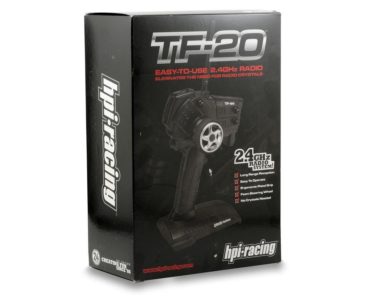 HPI Racing TF-20U 2.4Ghz Radio System w/RF-30 Receiver
