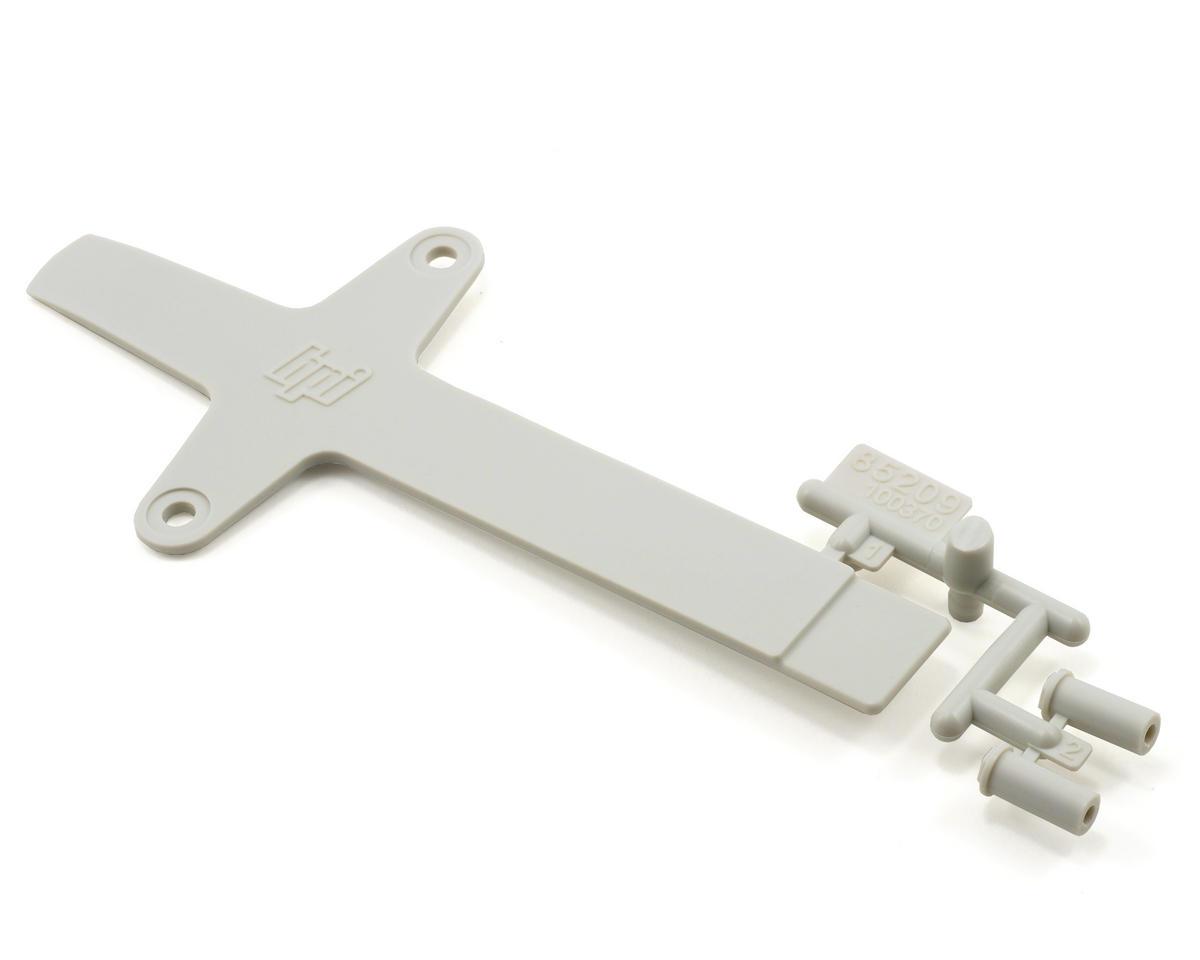 HPI Battery Brace Set (White) (Blitz ESE)