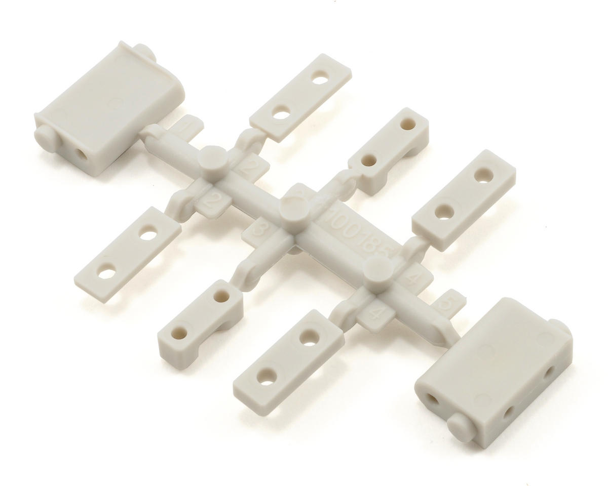 HPI Racing Servo Mount Set (White) (Blitz ESE)