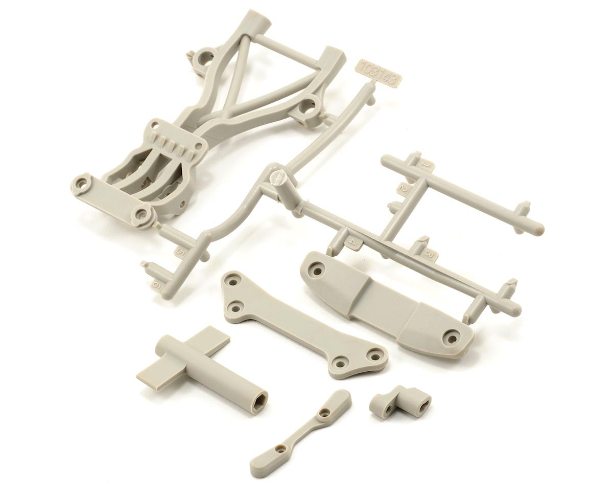 HPI Racing High Performance Rear Brace Set (White) (Blitz ESE)