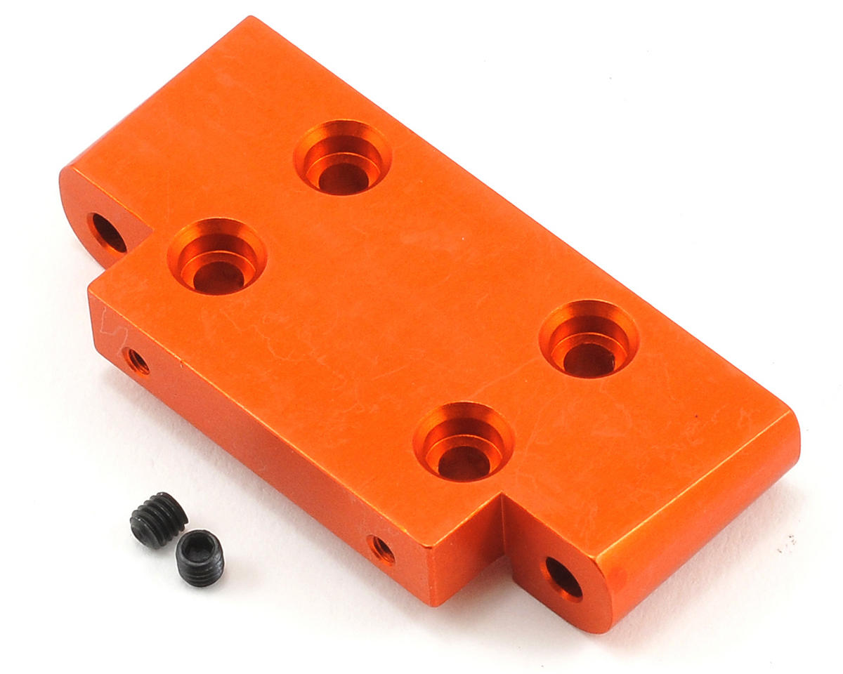 HPI Racing Aluminum Front Suspension Arm Mount (Orange)