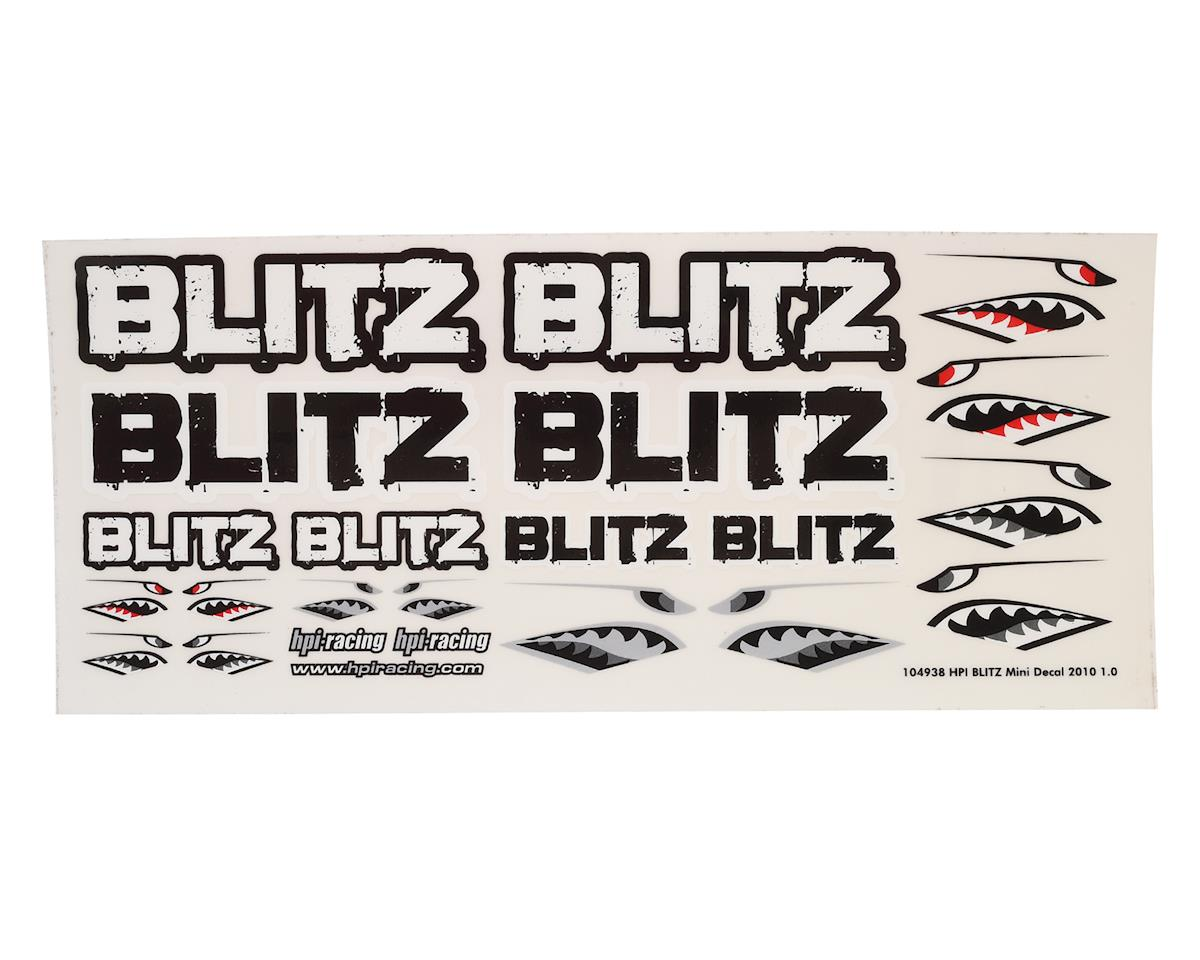 HPI Blitz Mini Decal