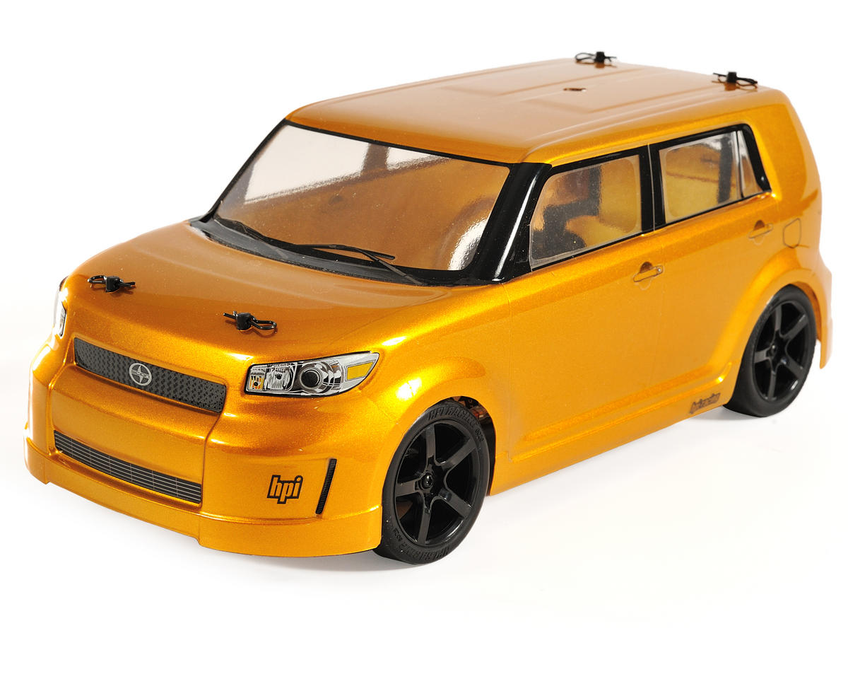 HPI Switch Front Wheel Drive RTR Touring Car w/Scion xB Body (Gold Rush  Mica)