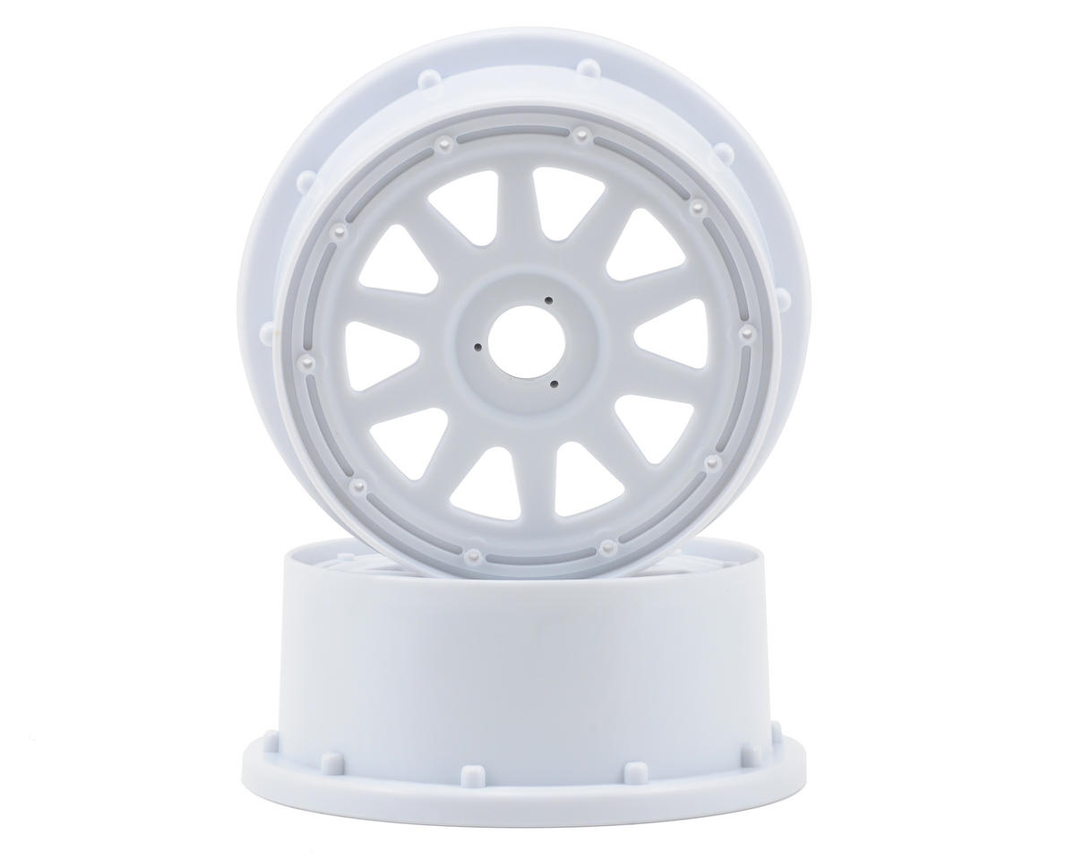 HPI Racing TR-10 Baja 5SC Front Wheel (White) (2) (120x60mm/-4mm Offset)