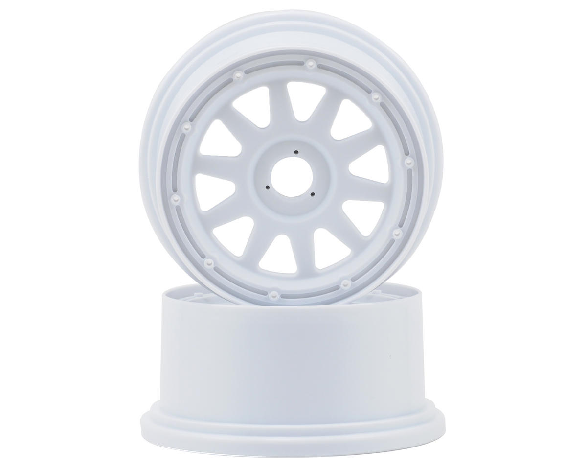 HPI Racing TR-10 Baja 5SC Rear Wheel (2) (120x65mm/-10mm Offset) (White)