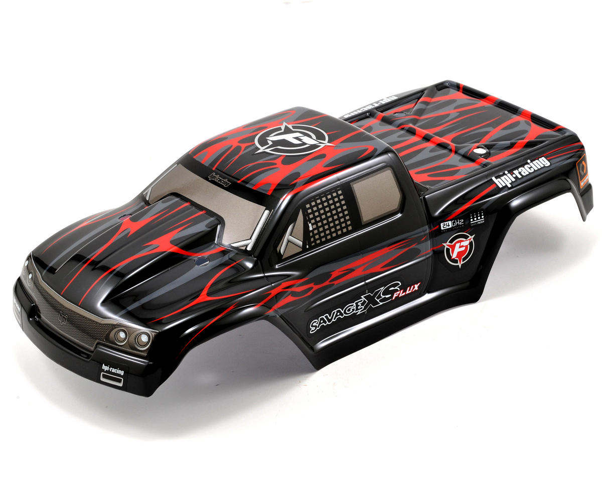 HPI Racing Savage XS Flux GT-2XS Painted Body (Red/Black/Grey)