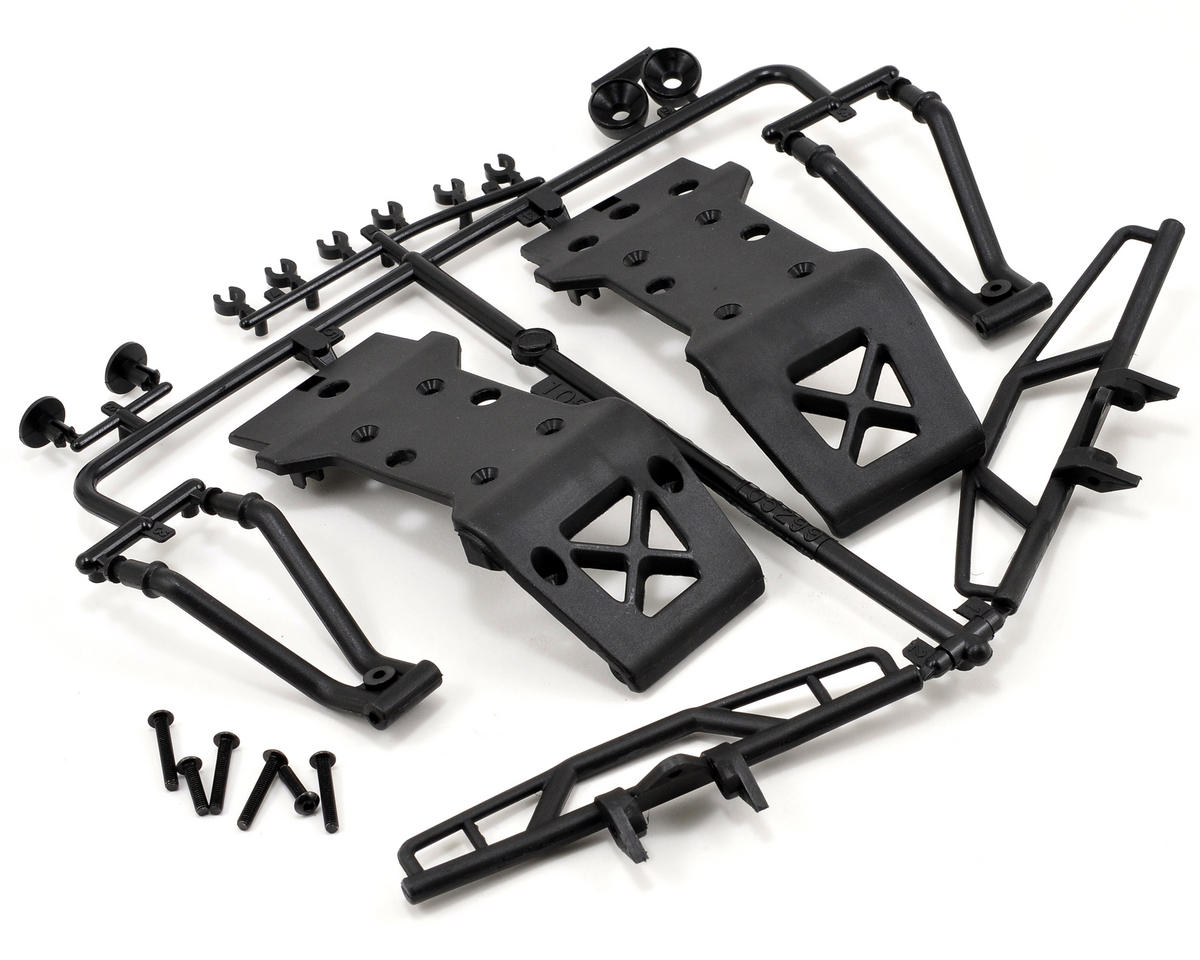 HPI Savage XS Flux Bumper & Skid Plate Set