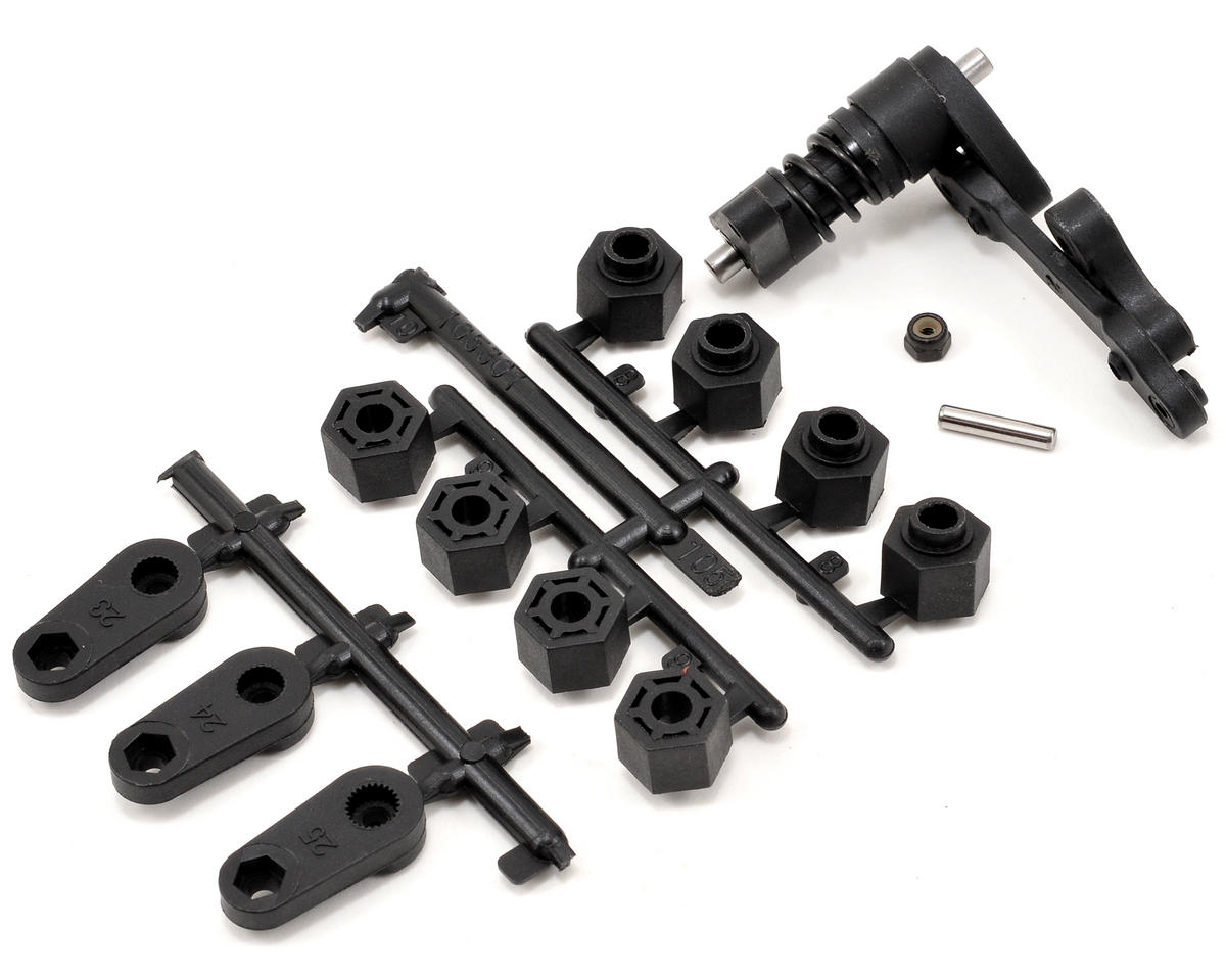Steering Arm & Servo Saver Set by HPI